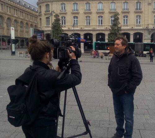 Deux camarades de la Fédération FO des Cheminots interviewés dans le contexte social tendu à la SNCF entre la réglementation du travail et la loi travail.