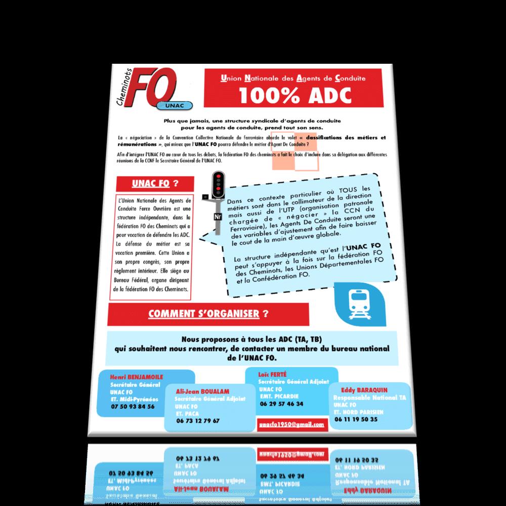 UNAC FO 100% ADC