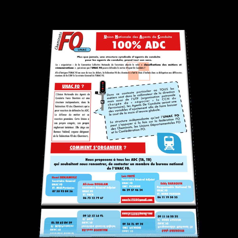 UNAC FO 100% ADC DÉCEMBRE 2017