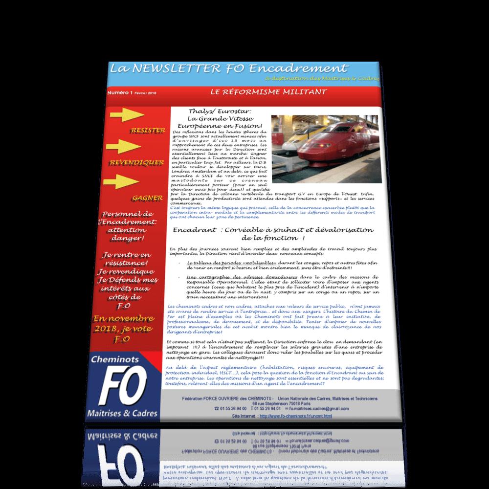 Newsletter n°1 du 19 février 2018