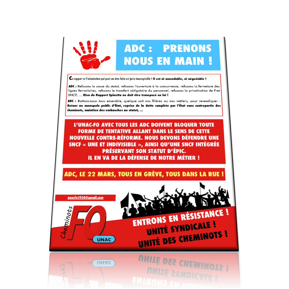 UNAC FO Rapport Spinetta  14 mars 2018