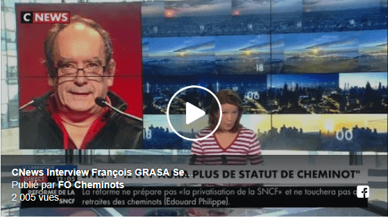 CNEWS – Interview François GRASA février 2018