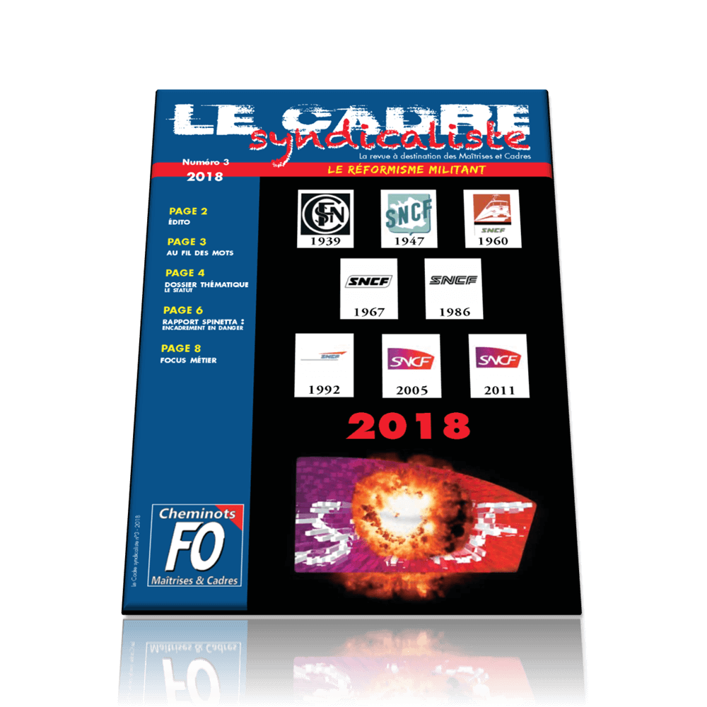 Le cadre syndicaliste n°3 mars/avril 2018