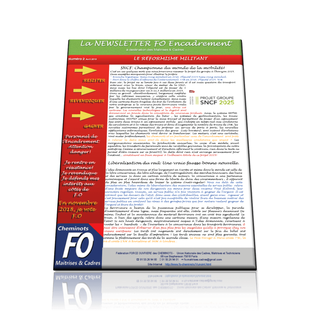 FO Cadres Newsletter 2