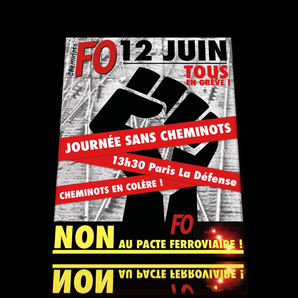 Journée Sans Cheminots !