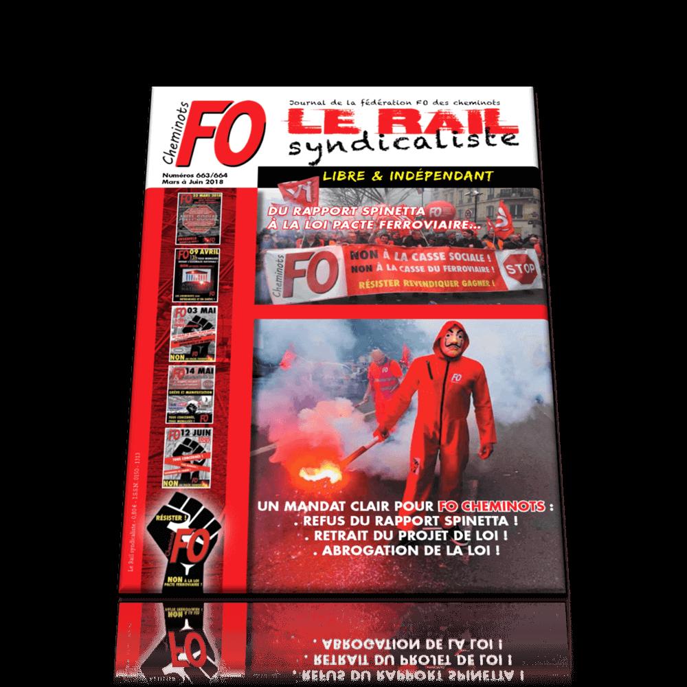 LE RAIL SYNDICALISTE n°663-664