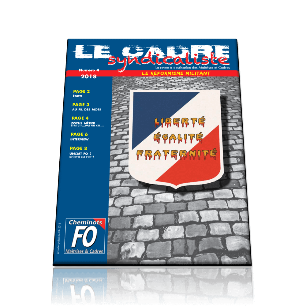 Le cadre syndicaliste n°4  2018