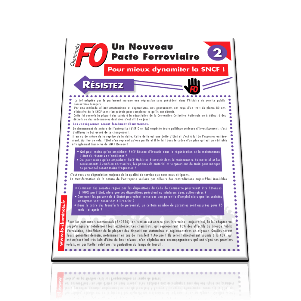 Campagne – Tract n°2