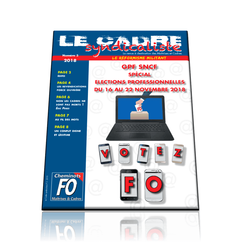 Le cadre syndicaliste n°5 2018