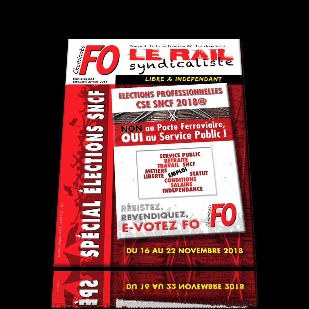 LE RAIL SYNDICALISTE n°665