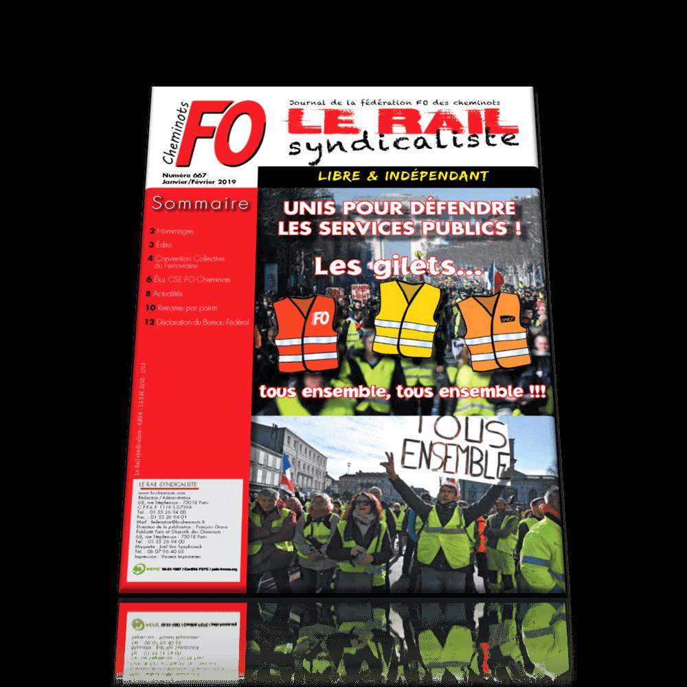 Le Rail Syndicaliste n°667