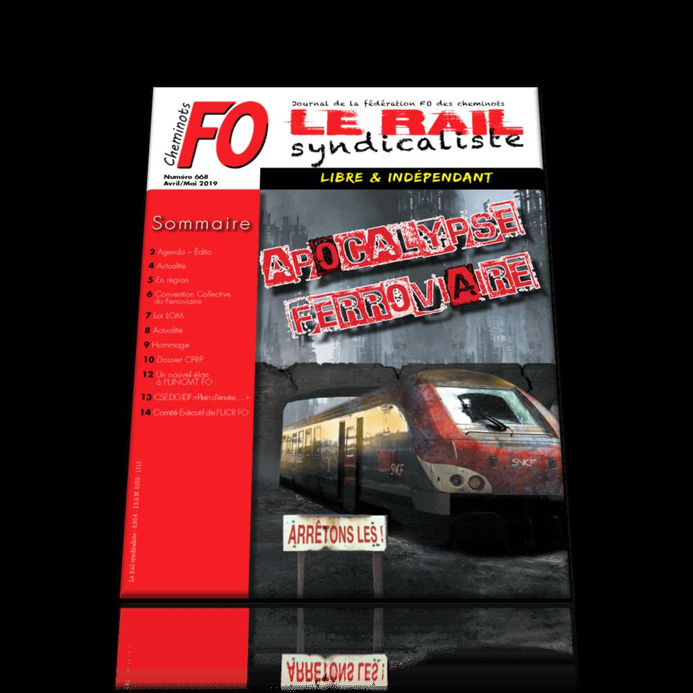 Le Rail Syndicaliste n°668