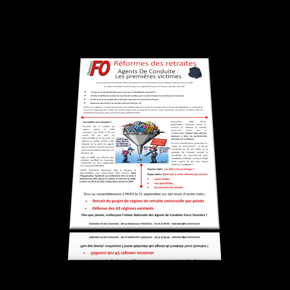 Réforme des retraites – Agents de conduite: les premières victimes.