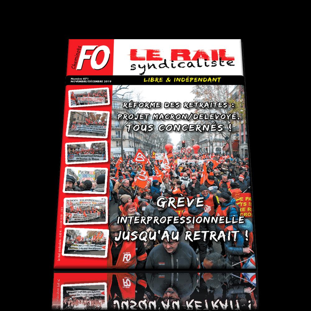 Le Rail Syndicaliste n°671