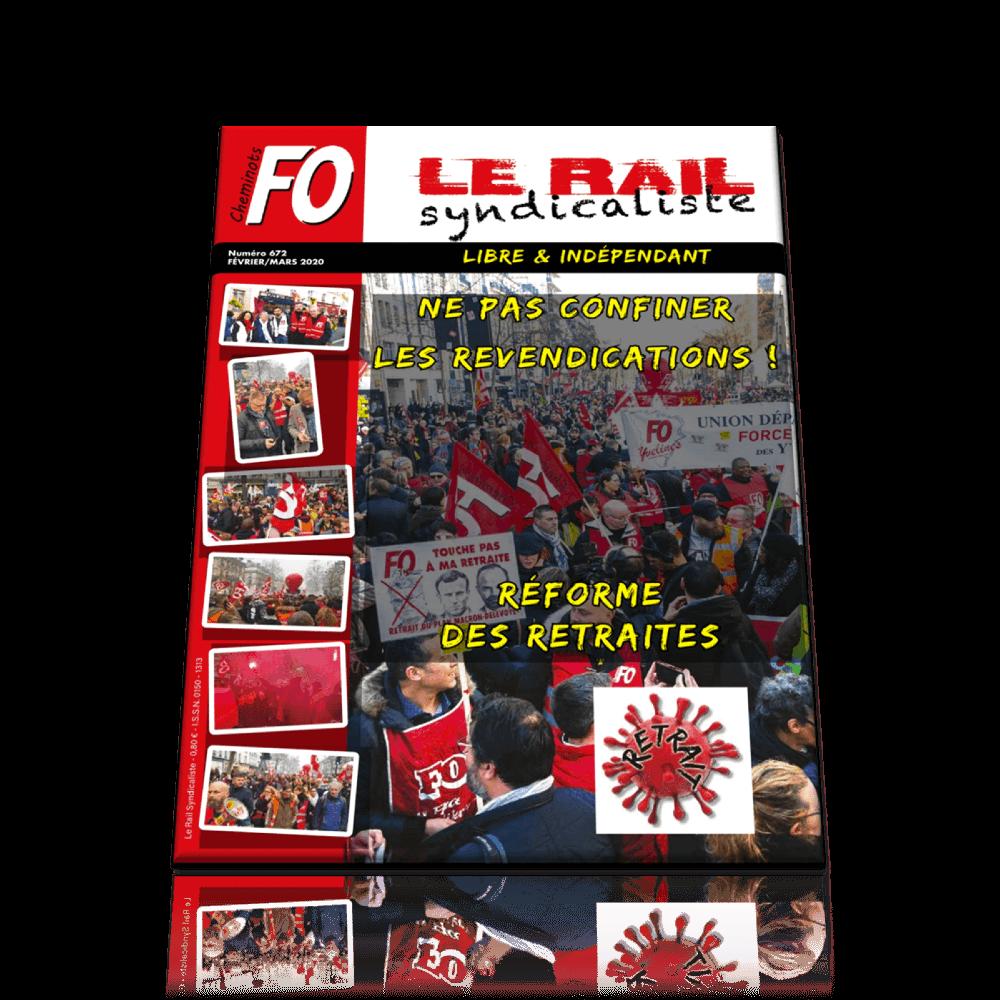 Le Rail Syndicaliste n°672