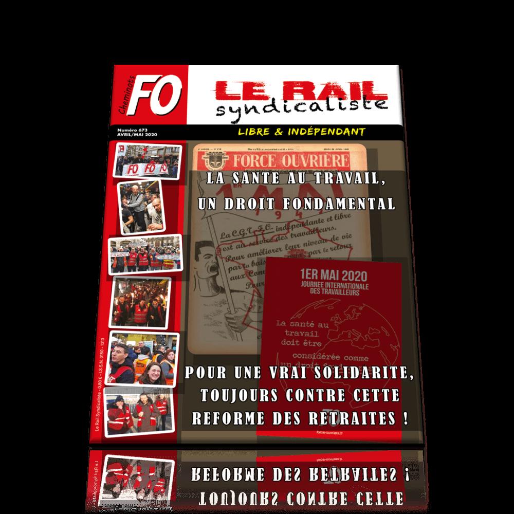 Le Rail Syndicaliste n°673