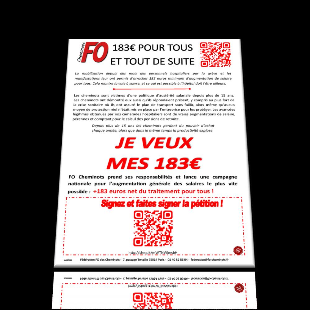 183€ POUR TOUS ET TOUT DE SUITE