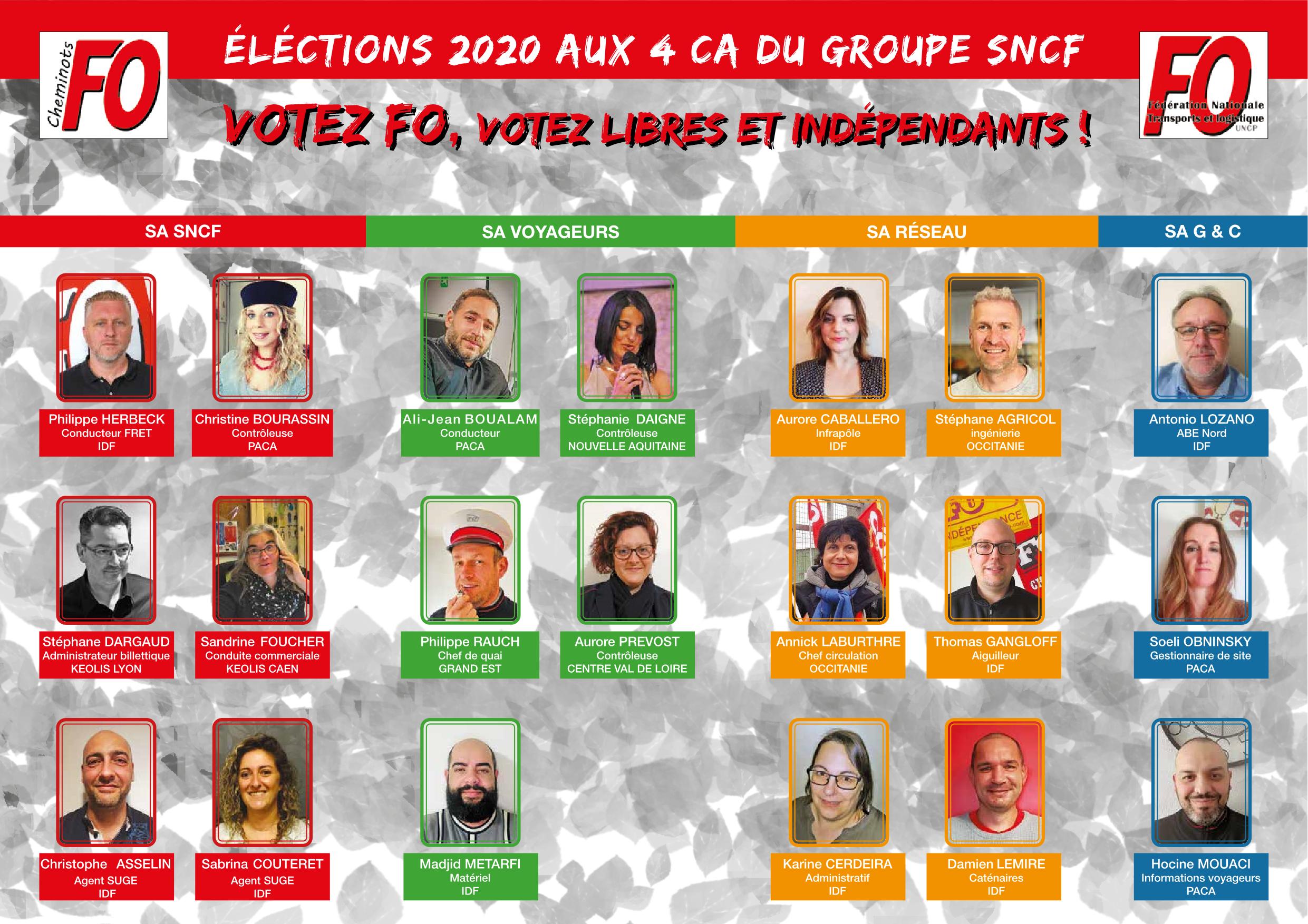Votez FO !