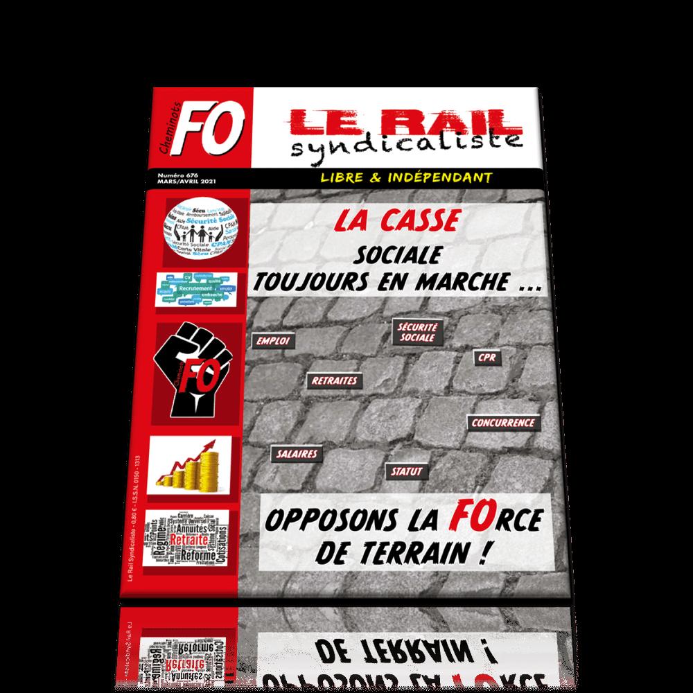 Le Rail Syndicaliste n°676